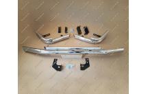 Дуги передняя + задняя, металл на Toyota Land Cruiser Cygnus