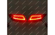 Неоновые + диодные катафоты в бампер Toyota Camry 50, 55  15-17г.
