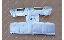 Накладки на передний и задний бампер Nissan X-Trail 31  10-13г.